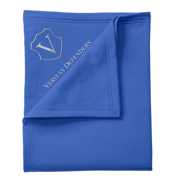 Veritas Embroidered Core Fleece Sweatshirt Blanket
