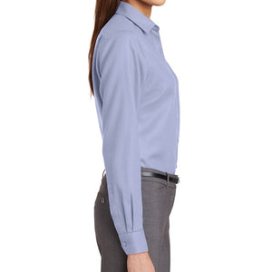 Knights Corporate Branded Red House Ladies Non-Iron Diamond Dobby Shirt (Limited Inventory)