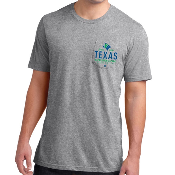 Short Sleeve Pocket Tee, Lightweight, TRAPS Logo (XS-4XL)
