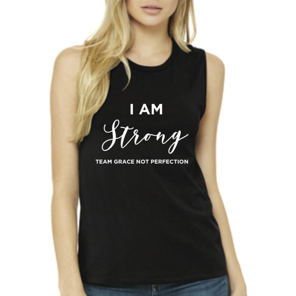 I AM Strong Muscle Tank