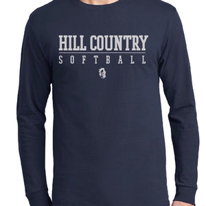 Knights Softball Fans Performance Long Sleeve