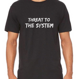 Men's Short Sleeve Shirt, Threat to the System (S-XL) - Ah Ha!