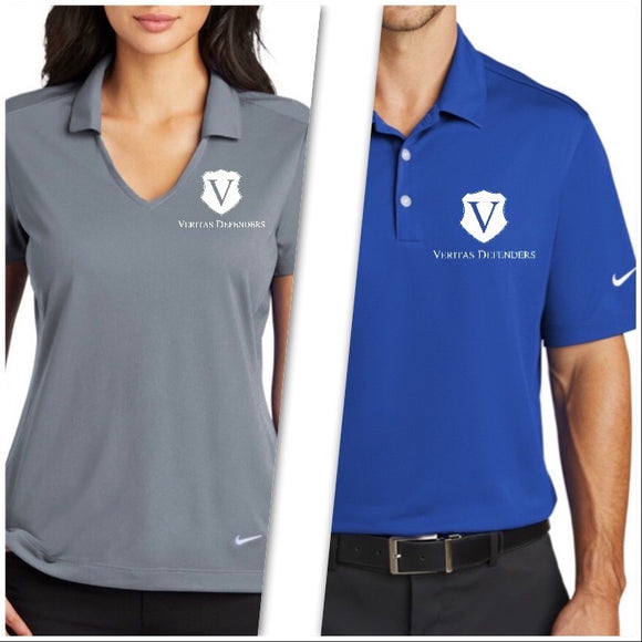 Veritas Defenders Shield Nike Dri-FIT Vertical Mesh Polo