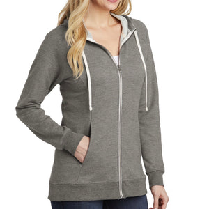 District Women's Perfect Tri Full-Zip Hoodie