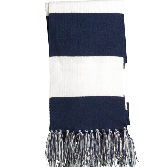 Spectator Striped Scarf