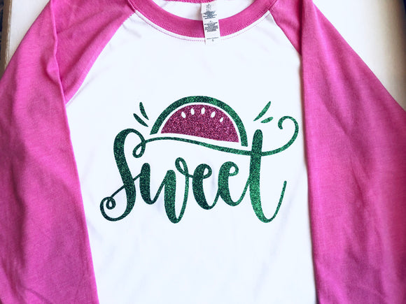 Sweet Watermelon Raglan