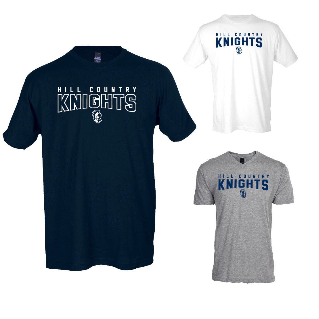 Hill Country Knights T-shirt (Closeout)