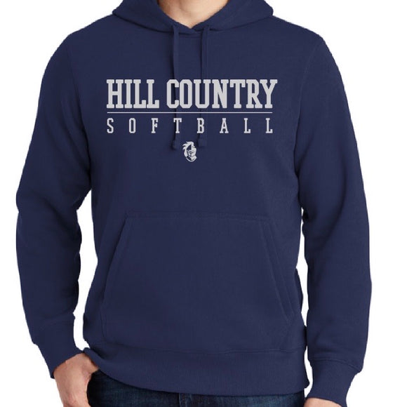 Knights Softball Fleece Hooded Sweatshirt (YXS-4XL)