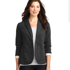 Port Authority Ladies Fleece Blazer (Embroidered Logo)