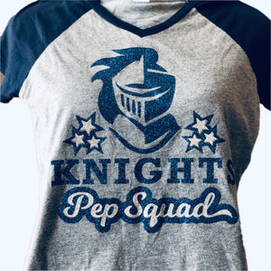 Pep Squad Cheer Shirt, Girls (3T-16)