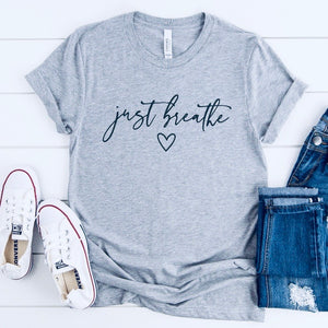 just breathe shirt cedar park texas ahha ah ha store
