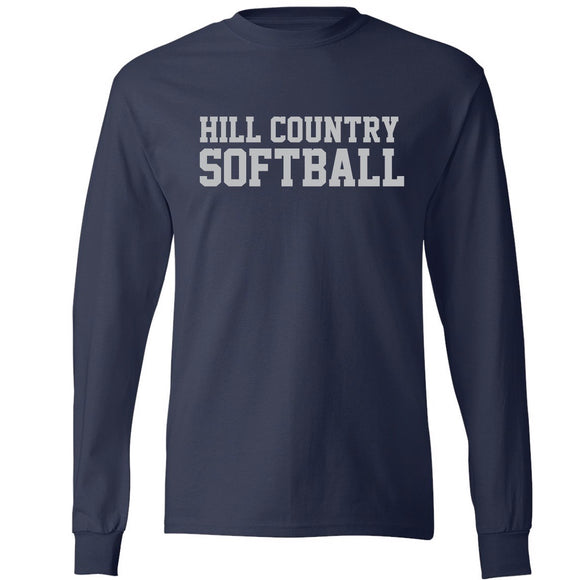 Team Shirts, Softball Long Sleeve T-shirt