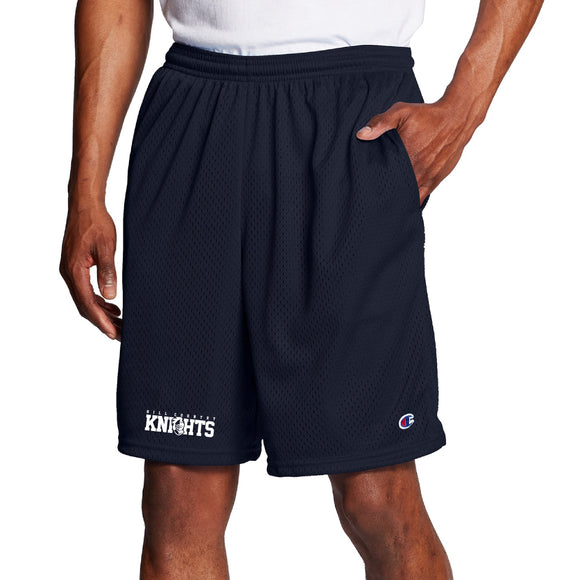 Knights Champion Polyester Mesh Shorts with Pockets