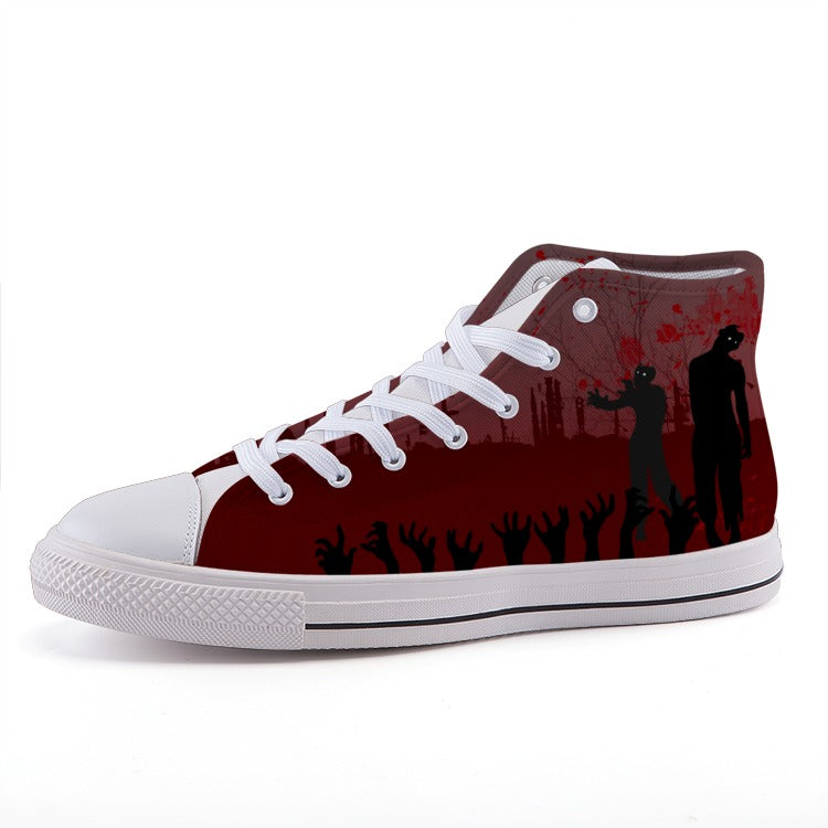 Zombie Attack High-top shoes