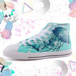 Jellyfish High Top canvas shoes