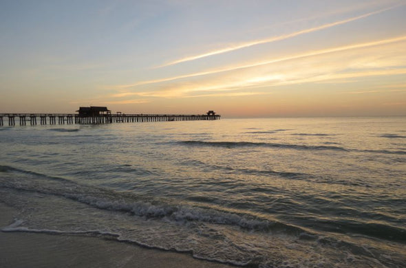 The Naples Pier, Florida Photographic Print