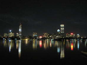 Boston Waterfront at Night
