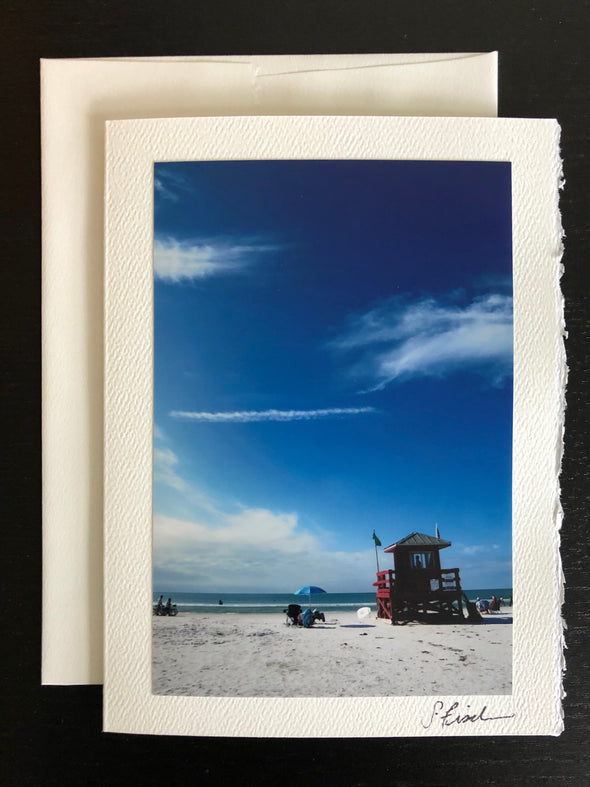White Sand and Blue Skies of Siesta Key, FL