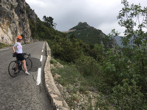 Col de la Madone 2 - bike hire French Riviera