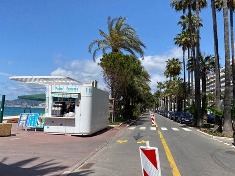 Cannes bike lane