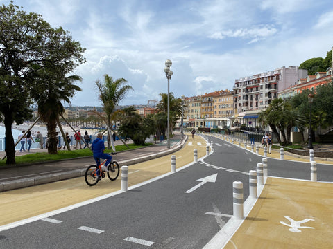 Promenade des Anglais Cycle Path 2