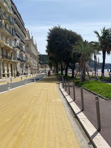 Promenade des Anglais cycling path 3