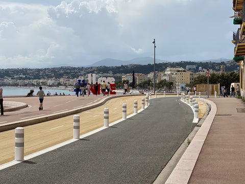 Promenade des Anglais cycling path