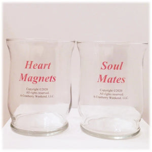 Heart & Soul Candle Holder Set