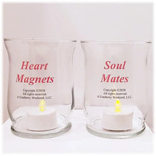 Load image into Gallery viewer, Heart & Soul Candle Holder Set