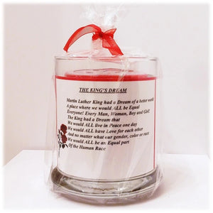 The King's Dream Poem Candle Holder