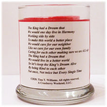 Load image into Gallery viewer, The King's Dream Poem Candle Holder
