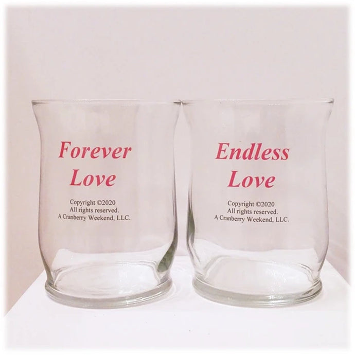 Love Candle Holder Set