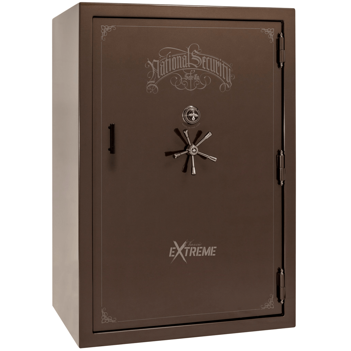 "Classic Select Extreme | 60 | Level 6 Security | 90 Minute Fire Protection | Bronze Gloss | Black Mechanical Lock | 72.5""(H) x 50""(W) x 32""(D)"