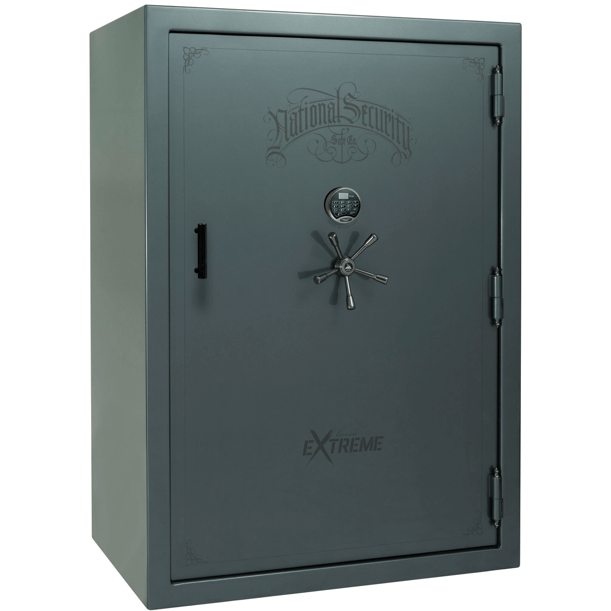 "Classic Select Extreme | 60 | Level 6 Security | 90 Minute Fire Protection | Forest Mist Gloss | Black Electronic Lock | 72.5""(H) x 50""(W) x 32""(D)"