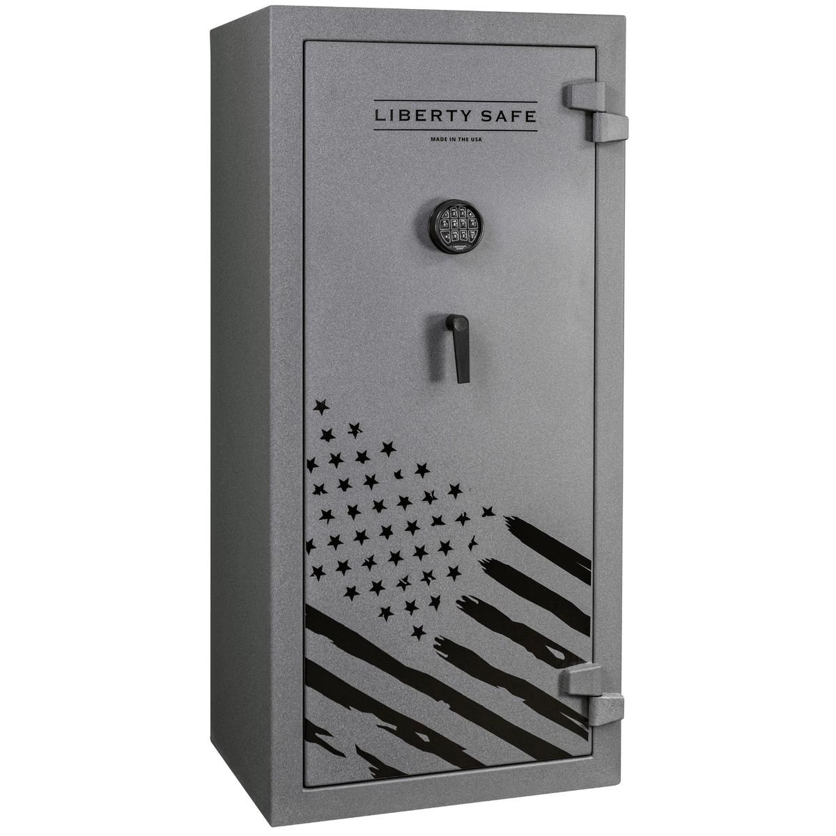 "Centurion 24 - Level 1 Security - 30 Minute Fire Protection - Granite - Electronic Lock - Dimensions: 59.5""(H) x 28.25""(W) x 22""(D)"