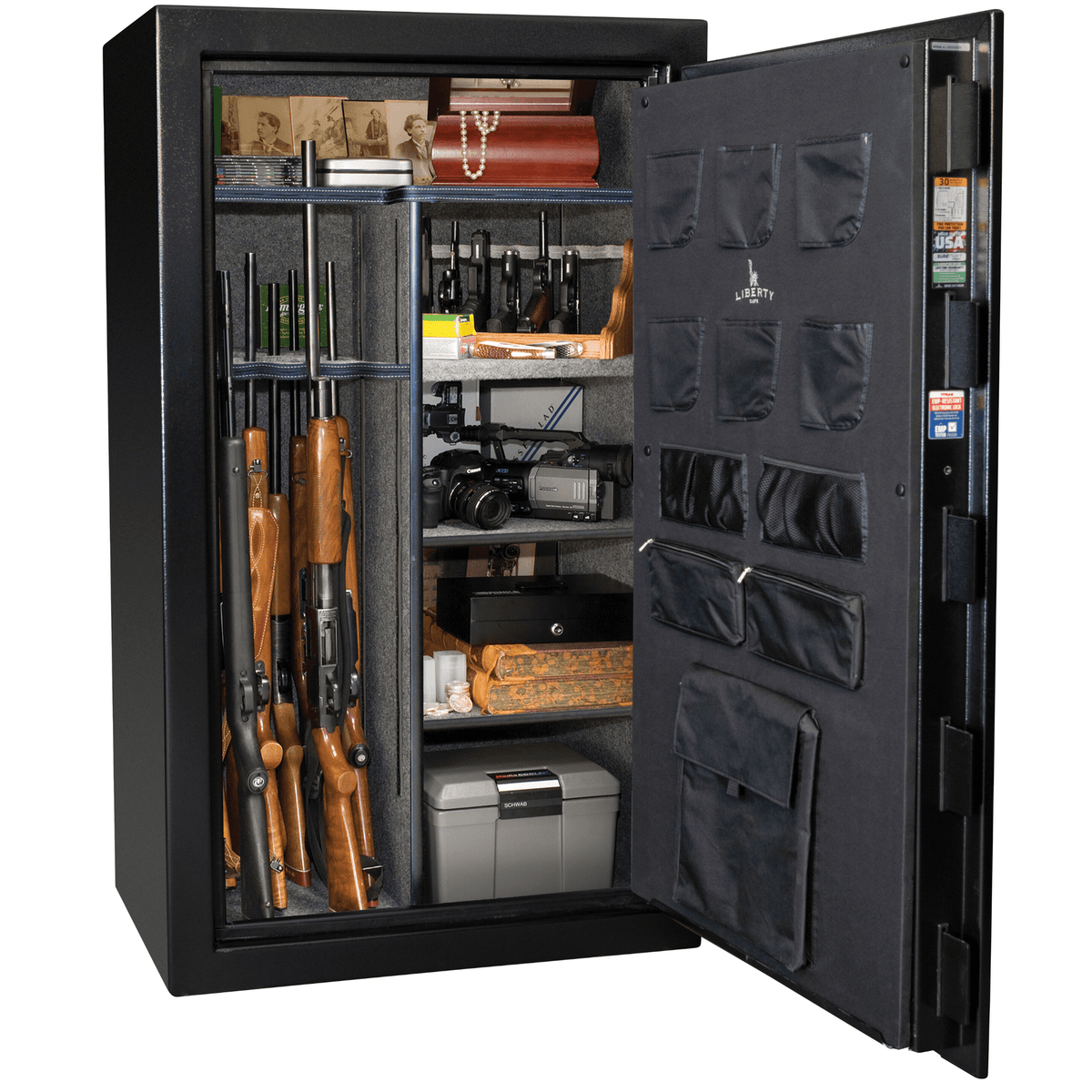 Liberty Safe Centurion 36 Textured Black Electronic Lock