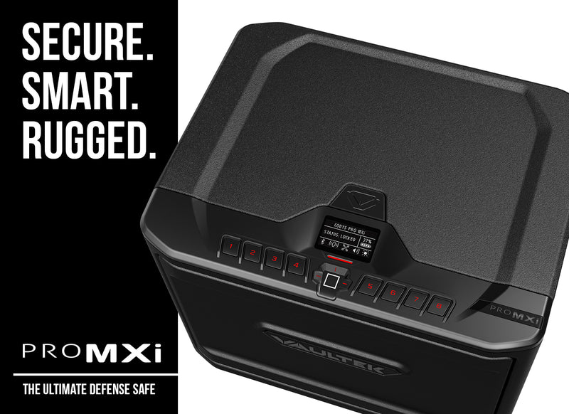 VAULTEK MXi Large Capacity Rugged Biometric Bluetooth Smart Safe
