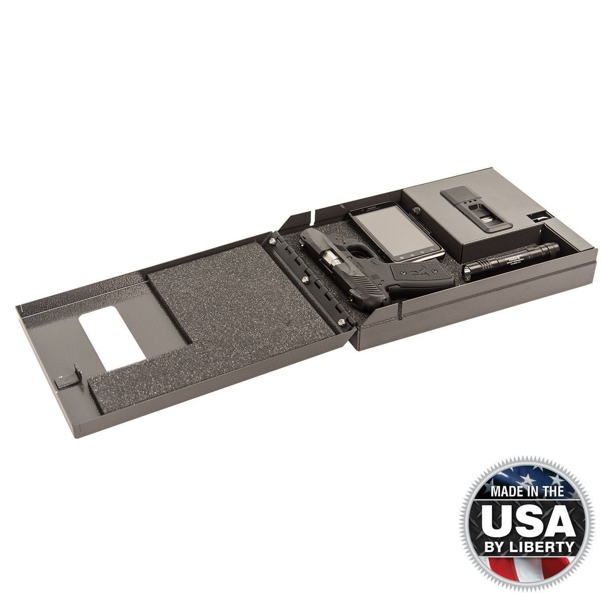 Liberty Safe-Compact Vault-Bio-metric-250-open