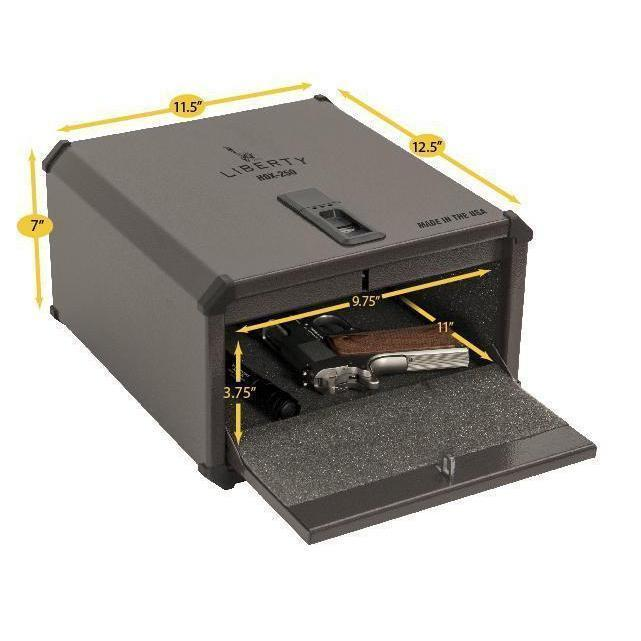 Liberty Safe-Compact Vault-Bio-metric-350-Open