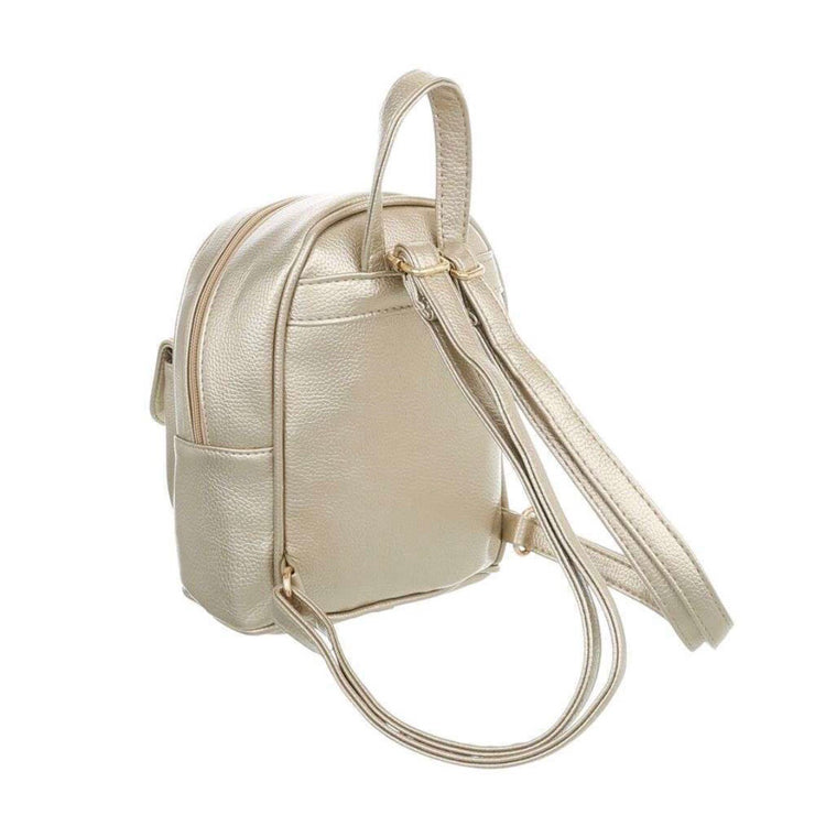 """FINE"" Mini Backpack Golden"