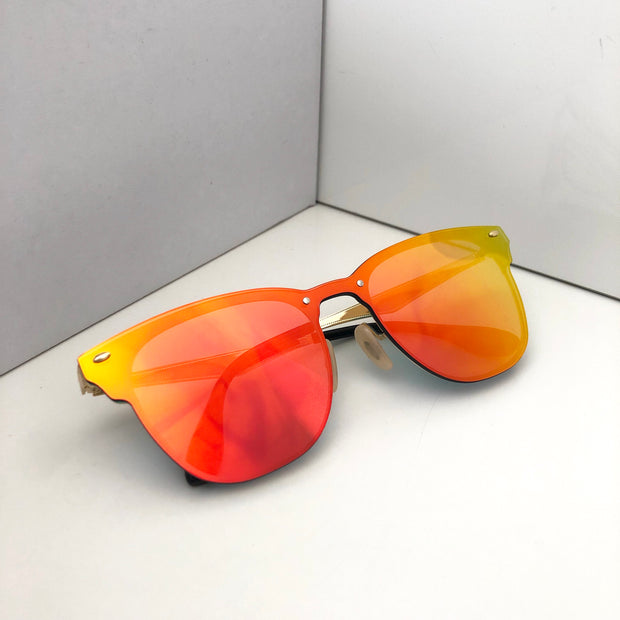 """SINGAPUR"" Orange Sunglasses"