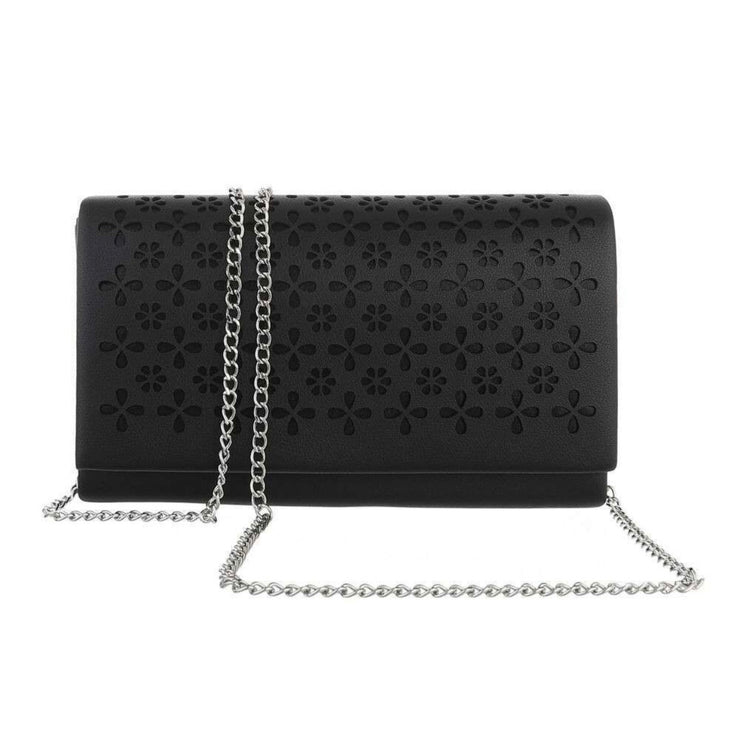 """SMALL FLOWER"" Black Clutch"