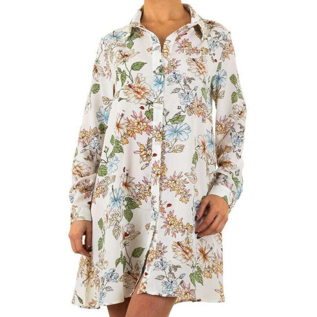 Blouse Flower Dress