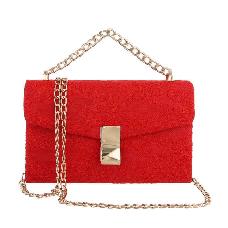"""LADY LACE"" Red Bag"