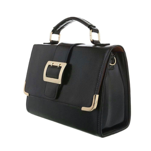 """BUCKLE SHINY"" Bag Black"