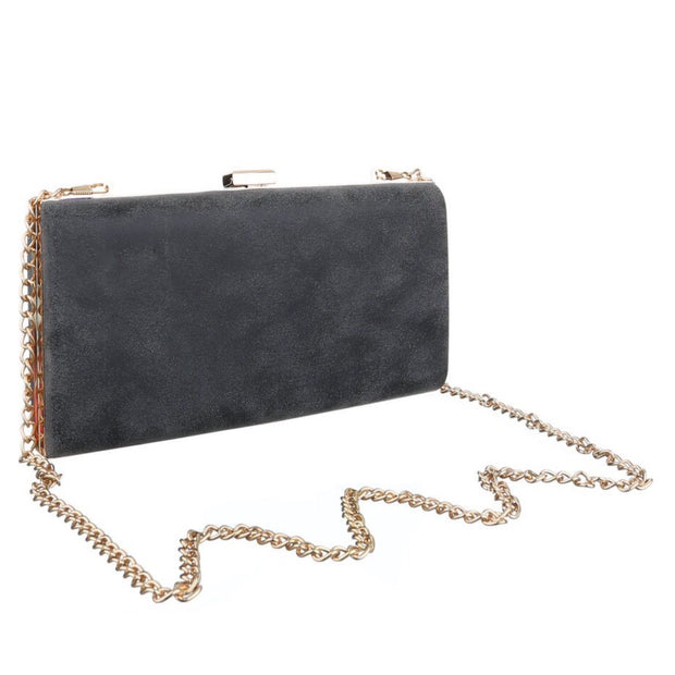 """LITTLE grey"" Clutch"