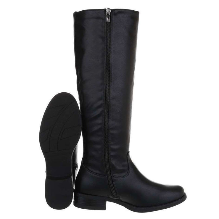"""STYLED"" Black Boots"