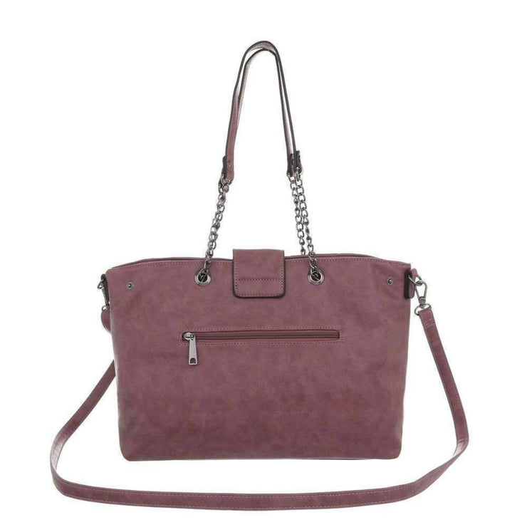 """LAUREEN"" Handbag Rose"