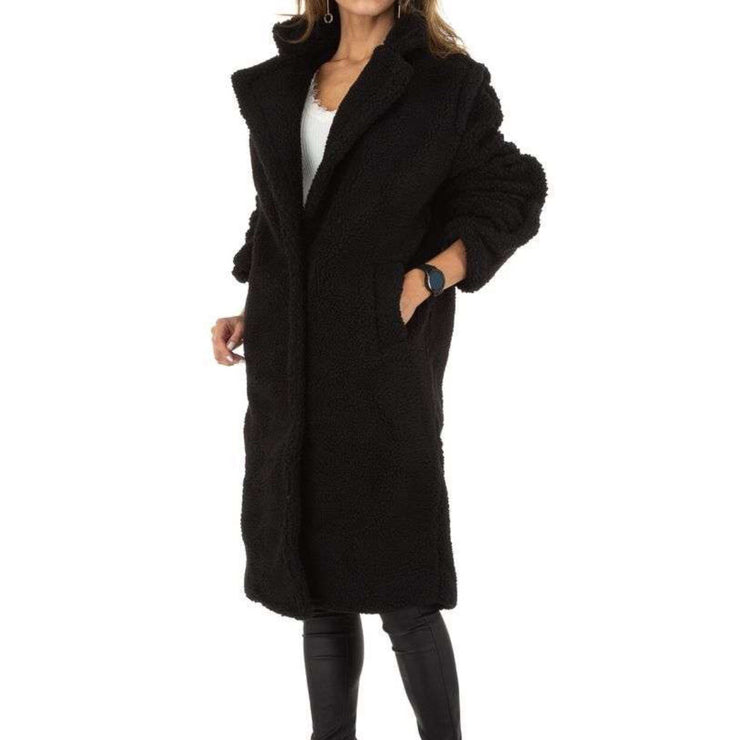 """SIA TEDDY"" Long Coat"