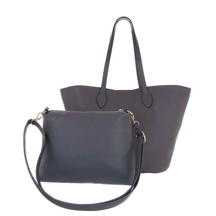 """SIMPLY GREY"" Shopper Bag"